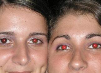 ojos rojos en las fotos