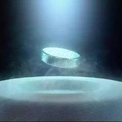 levitación magnética cero absoluto