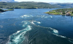 olas corrientes marinas