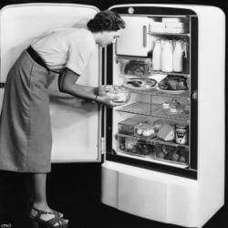 la historia del refrigerador