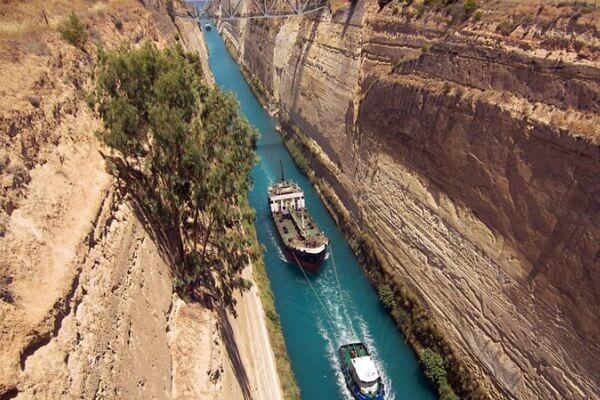 Canal de navegación marítima