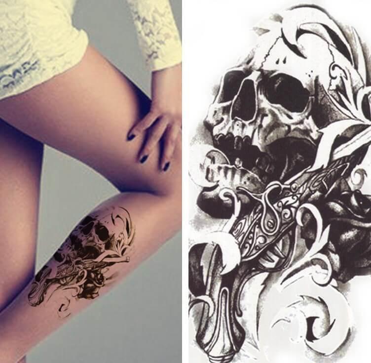 boceto o calcomania de un tatuaje