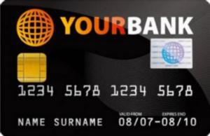 como se hacen las tarjetas bancarias credito