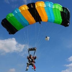 Cómo funciona el paracaídas