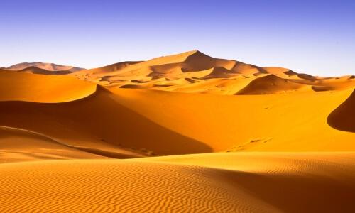 dunas del desierto del sahara grande mundo