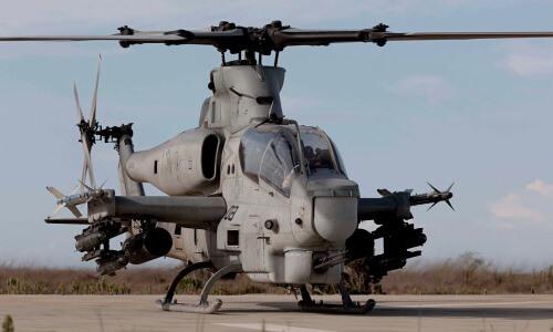 Helicóptero militar de combate