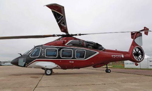 helicóptero civil transporte de personas