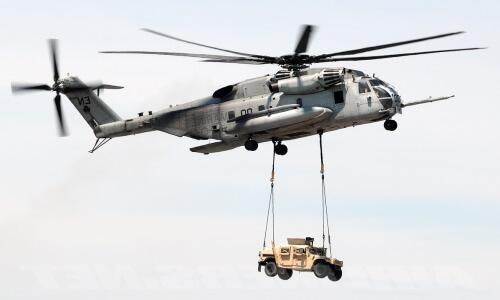 helicóptero militar de transporte de carga medianas