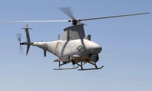 helicóptero militar no tripulado