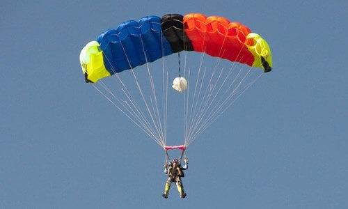 Partes de un paracaídas