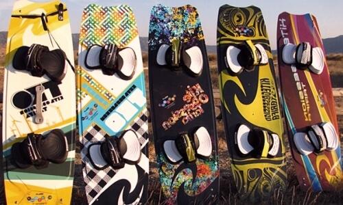 Diseños de tablas de kitesurf