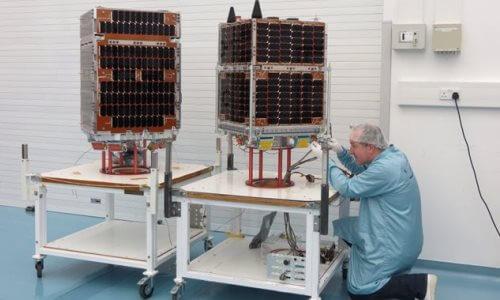 cómo se fabrica un satélite moderno - Fabricación y montaje de un satélite