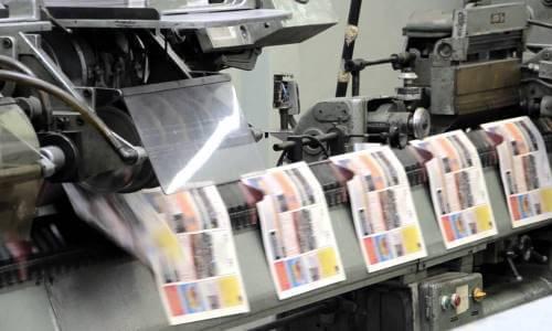 impresión y empaquetado de los periódicos