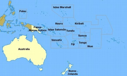 imagen continente oceania