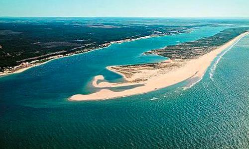 Diferentes tipos de costa marina
