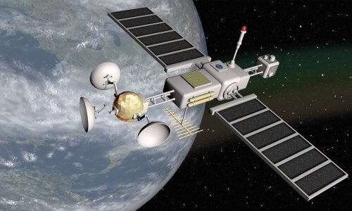 cuántos satélites hay