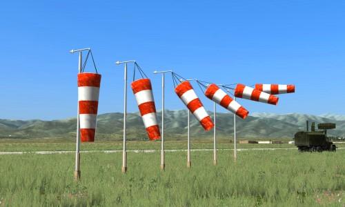 cómo se mide el viento