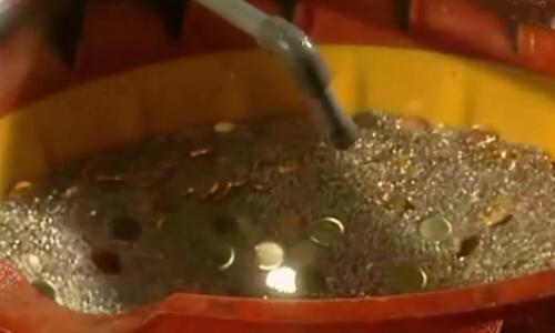 desengrasado de monedas