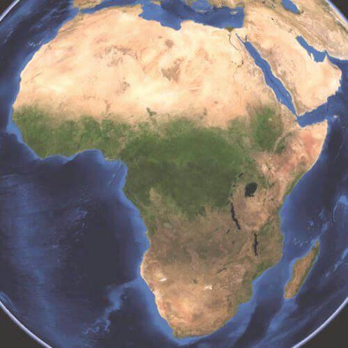 Fotografía del continente África