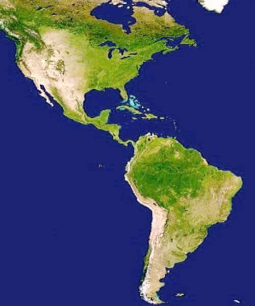 imagen continente América