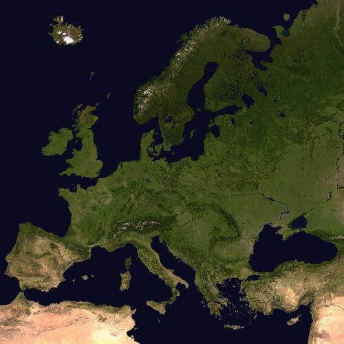imagen continente Europa