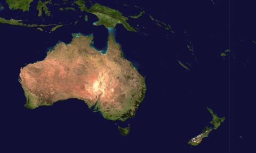 foto continente Oceanía