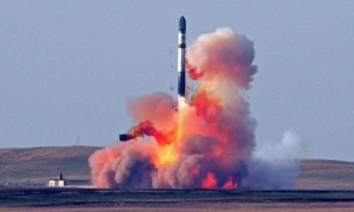 Satélite artificial lanzado al espacio