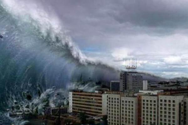 cómo se forman las olas de un tsunami