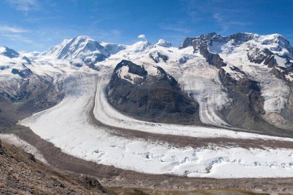 cómo se origina un glaciar