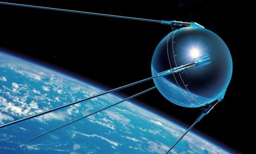 priemr satelite artificial sputnik 1