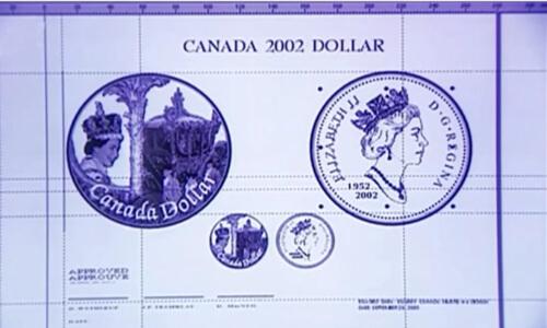 cómo se diseña una moneda