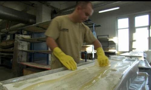 fabricación de una tabla kitesurf paso a paso