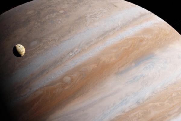 características de los satélites de Júpiter