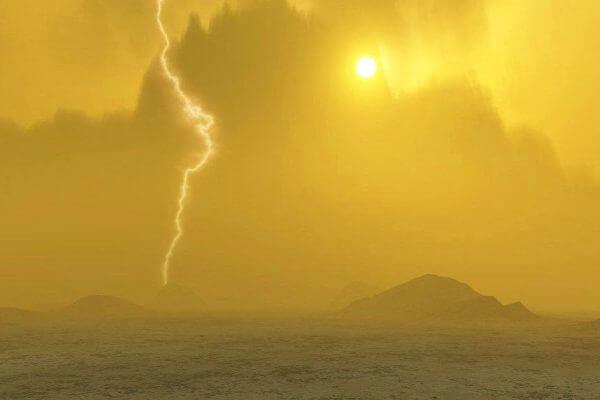 características de la atmósfera de Venus