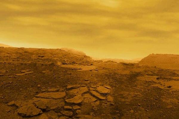 composición y geología de Venus