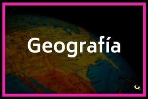 geografía y geología
