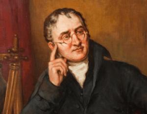 quién descubrió la teoría atómica - John Dalton, padre de la teoría atómica en 1803