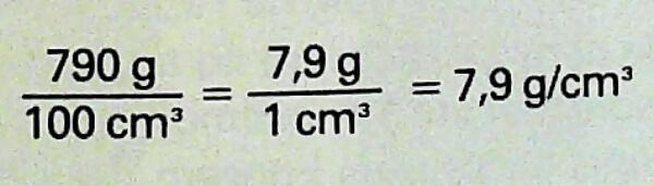 fórmula para poder calcular la masa