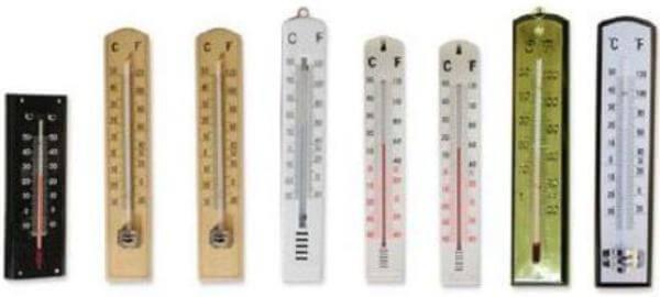 cómo es un termómetro