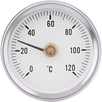 termómetro de aguja