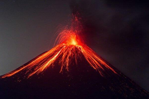 qué es el magma de un volcán